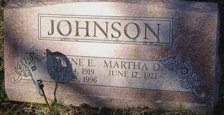 JOHNSON, WAYNE E - Franklin County, Ohio   WAYNE E JOHNSON - Ohio Gravestone Photos