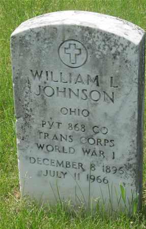 JOHNSON, WILLIAM L. - Franklin County, Ohio   WILLIAM L. JOHNSON - Ohio Gravestone Photos