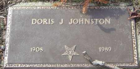 JOHNSTON, DORIS J - Franklin County, Ohio | DORIS J JOHNSTON - Ohio Gravestone Photos