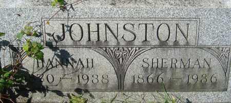 HOUSEHOLDER JOHNSTON, HANNAH ELLA - Franklin County, Ohio   HANNAH ELLA HOUSEHOLDER JOHNSTON - Ohio Gravestone Photos