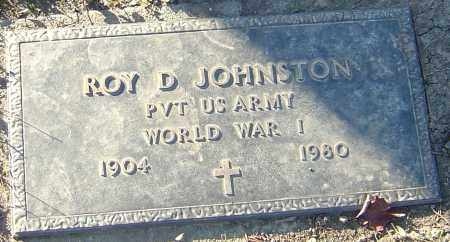 JOHNSTON, ROY D - Franklin County, Ohio | ROY D JOHNSTON - Ohio Gravestone Photos