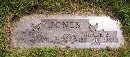 JONES, CECIL PAUL - Franklin County, Ohio | CECIL PAUL JONES - Ohio Gravestone Photos