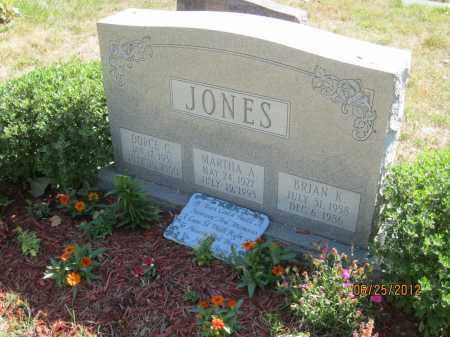 JONES, BRIAN KEVIN - Franklin County, Ohio | BRIAN KEVIN JONES - Ohio Gravestone Photos