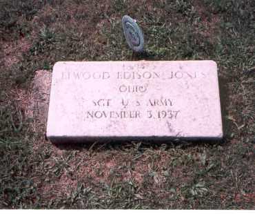 JONES, ELWOOD EDSON - Franklin County, Ohio   ELWOOD EDSON JONES - Ohio Gravestone Photos