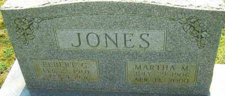 JONES, MARTHA M - Franklin County, Ohio | MARTHA M JONES - Ohio Gravestone Photos