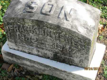 JONES, FRANKLIN O - Franklin County, Ohio | FRANKLIN O JONES - Ohio Gravestone Photos