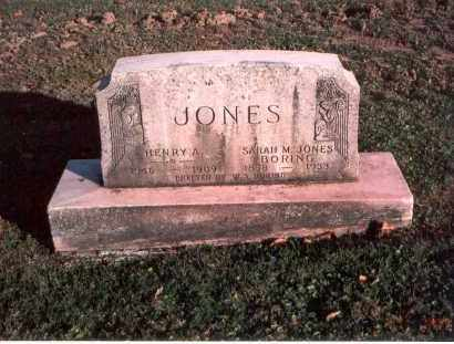 JONES - BORING, SARAH AMANDA - Franklin County, Ohio | SARAH AMANDA JONES - BORING - Ohio Gravestone Photos