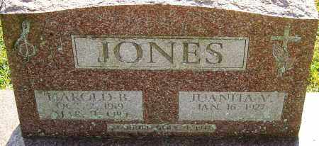 JONES, HAROLD B - Franklin County, Ohio | HAROLD B JONES - Ohio Gravestone Photos