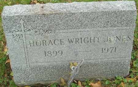 JONES, HORACE WRIGHT - Franklin County, Ohio   HORACE WRIGHT JONES - Ohio Gravestone Photos