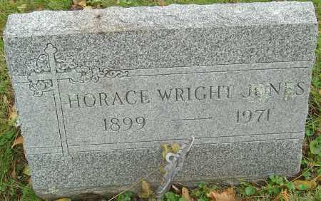 JONES, HORACE WRIGHT - Franklin County, Ohio | HORACE WRIGHT JONES - Ohio Gravestone Photos