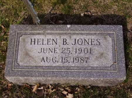 JONES, HELEN B. - Franklin County, Ohio | HELEN B. JONES - Ohio Gravestone Photos
