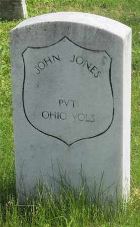 JONES, JOHN - Franklin County, Ohio | JOHN JONES - Ohio Gravestone Photos