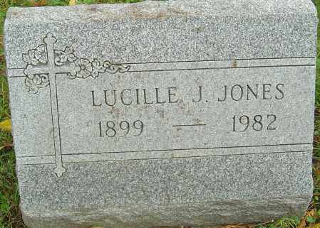 JUSTICE JONES, LUCILLE E - Franklin County, Ohio | LUCILLE E JUSTICE JONES - Ohio Gravestone Photos