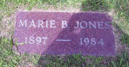 JONES, MARIE B. - Franklin County, Ohio | MARIE B. JONES - Ohio Gravestone Photos