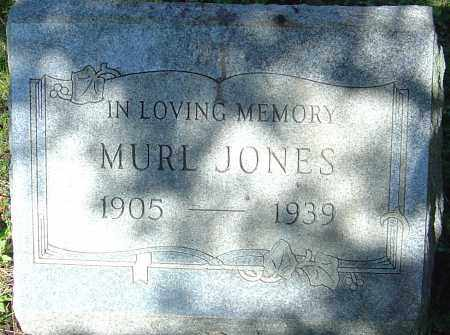 JONES, MURL - Franklin County, Ohio | MURL JONES - Ohio Gravestone Photos