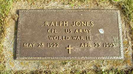 JONES, RALPH - Franklin County, Ohio | RALPH JONES - Ohio Gravestone Photos