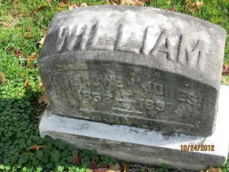 JONES, WILLIAM OWEN - Franklin County, Ohio | WILLIAM OWEN JONES - Ohio Gravestone Photos