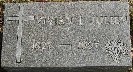 JULIEN, VIVIAN L - Franklin County, Ohio | VIVIAN L JULIEN - Ohio Gravestone Photos