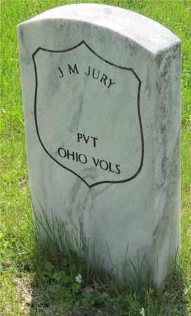 JURY, J. M. - Franklin County, Ohio | J. M. JURY - Ohio Gravestone Photos