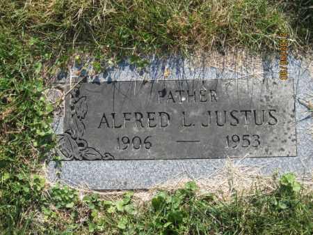JUSTUS, ALFRED LEO - Franklin County, Ohio   ALFRED LEO JUSTUS - Ohio Gravestone Photos