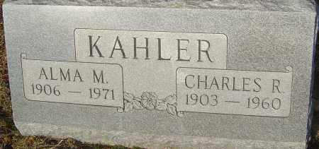 KAHLER, ALMA M - Franklin County, Ohio | ALMA M KAHLER - Ohio Gravestone Photos