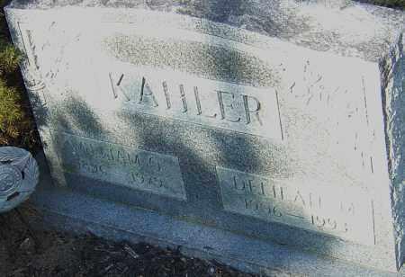 SMEDLEY KAHLER, DELILAH - Franklin County, Ohio | DELILAH SMEDLEY KAHLER - Ohio Gravestone Photos