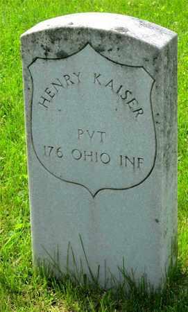 KAISER, HENRY - Franklin County, Ohio | HENRY KAISER - Ohio Gravestone Photos