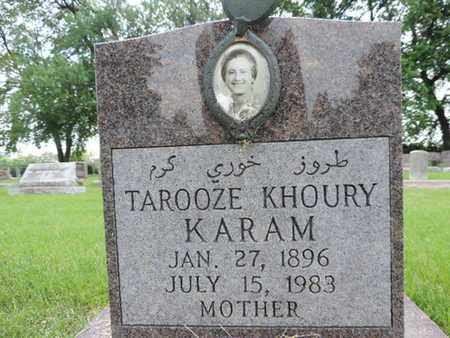 KARAM, TAROOZE - Franklin County, Ohio | TAROOZE KARAM - Ohio Gravestone Photos