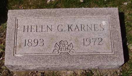 KARNES, HELEN G. - Franklin County, Ohio   HELEN G. KARNES - Ohio Gravestone Photos