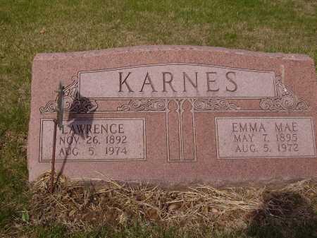 KARNES, LAWRENCE - Franklin County, Ohio | LAWRENCE KARNES - Ohio Gravestone Photos