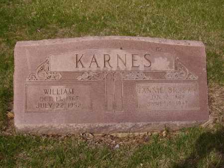 O'HARRA KARNES, FANNIE - Franklin County, Ohio | FANNIE O'HARRA KARNES - Ohio Gravestone Photos