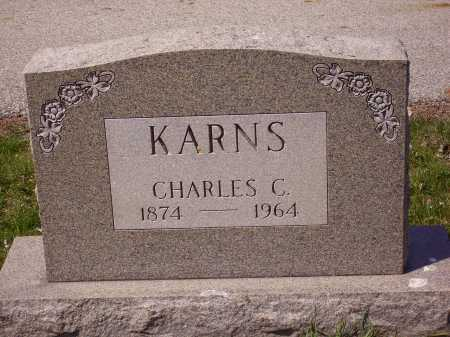 KARNS, CHARLES C. - Franklin County, Ohio | CHARLES C. KARNS - Ohio Gravestone Photos