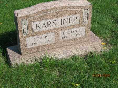 KARSHNER, LILLIAN E - Franklin County, Ohio | LILLIAN E KARSHNER - Ohio Gravestone Photos