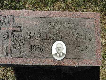KASALO, MARIJANO - Franklin County, Ohio | MARIJANO KASALO - Ohio Gravestone Photos
