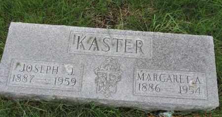 KASTER, MARGARET A - Franklin County, Ohio | MARGARET A KASTER - Ohio Gravestone Photos