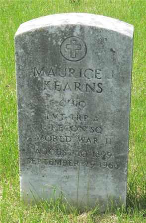 KEARNS, MAURICE J. - Franklin County, Ohio | MAURICE J. KEARNS - Ohio Gravestone Photos