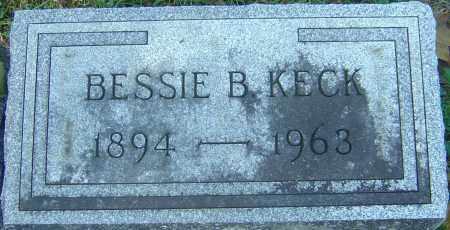 KECK, BESSIE B - Franklin County, Ohio | BESSIE B KECK - Ohio Gravestone Photos