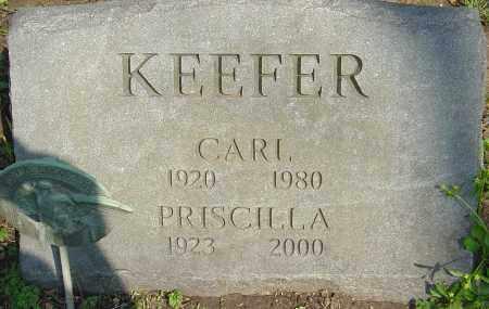 KEEFER, PRISCILLA - Franklin County, Ohio | PRISCILLA KEEFER - Ohio Gravestone Photos