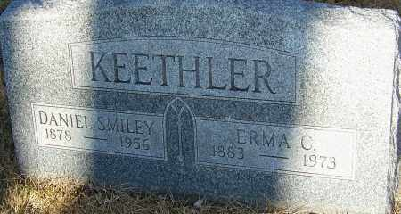 KEETHLER, DANIEL SMILEY - Franklin County, Ohio | DANIEL SMILEY KEETHLER - Ohio Gravestone Photos