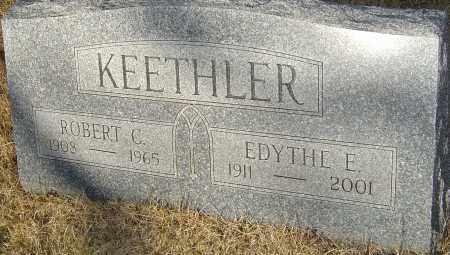 KEETHLER, EDYTHE E - Franklin County, Ohio | EDYTHE E KEETHLER - Ohio Gravestone Photos