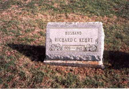 KEHRT, RICHARD C. - Franklin County, Ohio | RICHARD C. KEHRT - Ohio Gravestone Photos