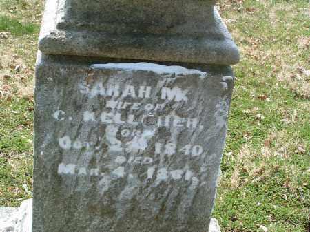 GLOVER KELLCHER, SARAH H. - Franklin County, Ohio | SARAH H. GLOVER KELLCHER - Ohio Gravestone Photos