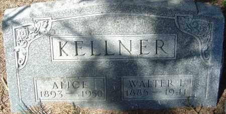 KELLNER, ALICE - Franklin County, Ohio | ALICE KELLNER - Ohio Gravestone Photos