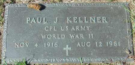 KELLNER, PAUL J - Franklin County, Ohio | PAUL J KELLNER - Ohio Gravestone Photos