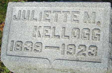 MOORE KELLOGG, JULIETTE - Franklin County, Ohio | JULIETTE MOORE KELLOGG - Ohio Gravestone Photos