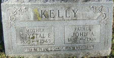 KELLY, JOHN A - Franklin County, Ohio | JOHN A KELLY - Ohio Gravestone Photos