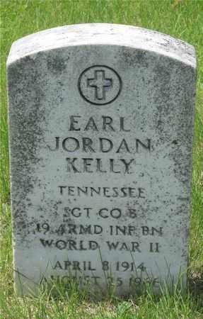 KELLY, EARL JORDAN - Franklin County, Ohio | EARL JORDAN KELLY - Ohio Gravestone Photos