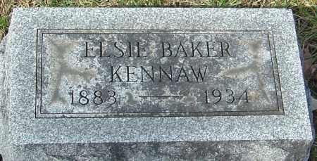 KENNAW, ELSIE - Franklin County, Ohio | ELSIE KENNAW - Ohio Gravestone Photos