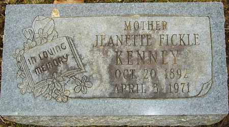 KENNEY, JEANETTE - Franklin County, Ohio | JEANETTE KENNEY - Ohio Gravestone Photos