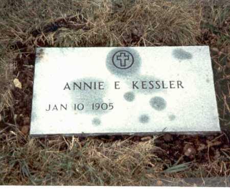REYNOLDS KESSLER, ANNIE E. - Franklin County, Ohio   ANNIE E. REYNOLDS KESSLER - Ohio Gravestone Photos